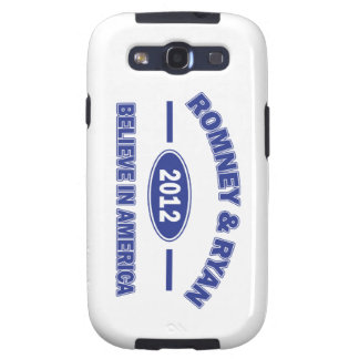 Romney And Ryan 2012 Galaxy S3 Cover