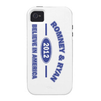 Romney And Ryan 2012 Case-Mate iPhone 4 Case