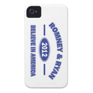 Romney And Ryan 2012 iPhone 4 Cover