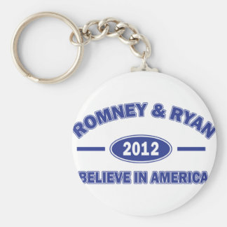 Romney And Ryan 2012 Keychain