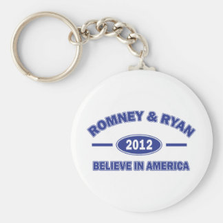 Romney And Ryan 2012 Keychain
