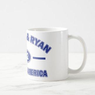 Romney And Ryan 2012 Coffee Mugs