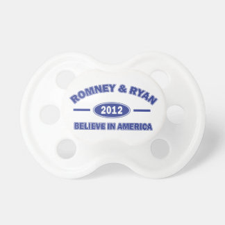 Romney And Ryan 2012 Baby Pacifier