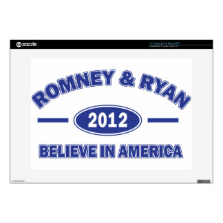Romney And Ryan 2012 Skin For Laptop