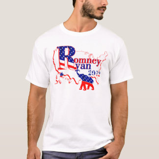 Romney and Ryan 2012 Tee Shirt