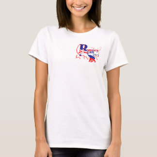 Romney and Ryan 2012 Tee Shirt Small Image Version