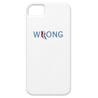 Romney and Ryan 2012 - Wrong iPhone SE/5/5s Case