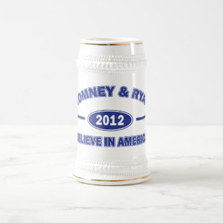 Romney and Ryan Believe Beer Stein