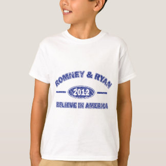 Romney and Ryan Believe in America T-Shirt