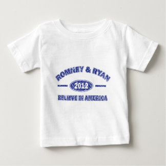 Romney and Ryan Believe in America T Shirt
