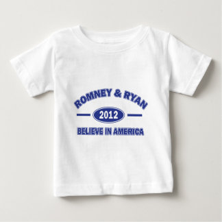 Romney and Ryan Believe Infant T-shirt