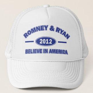 Romney and Ryan Believe Trucker Hat
