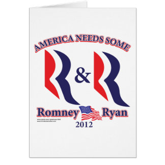Romney and Ryan Card