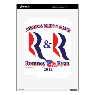 Romney and Ryan Decal For The iPad 2