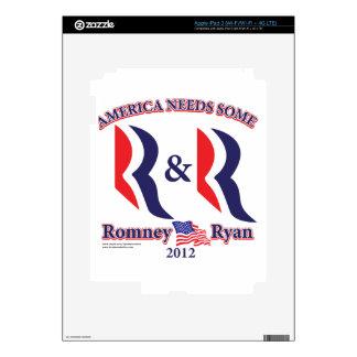 Romney and Ryan iPad 3 Decal