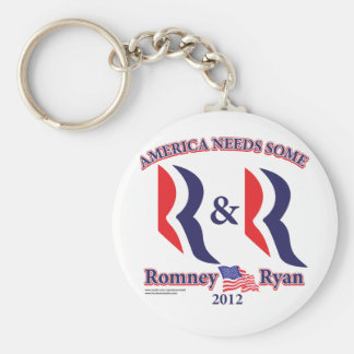 Romney and Ryan Keychain