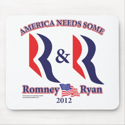 Romney and Ryan Mouse Pads