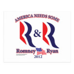 Romney and Ryan Postcard