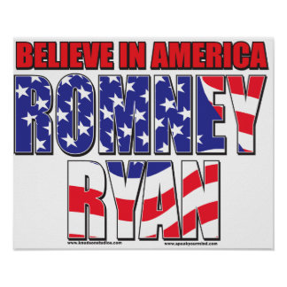 Romney and Ryan Poster