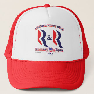 Romney and Ryan Trucker Hat