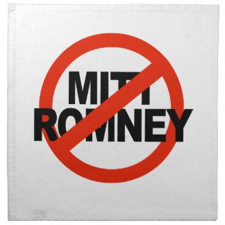 Romney anti Circle.png cruzado Servilleta Imprimida