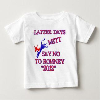 Romney- anti ningún Romney 2012 Polera