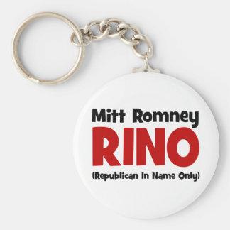 Romney anti RINO Llavero Personalizado