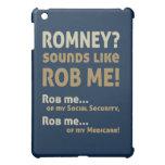 """Romney anti """"Romney me suena como Rob!"""" Político"""