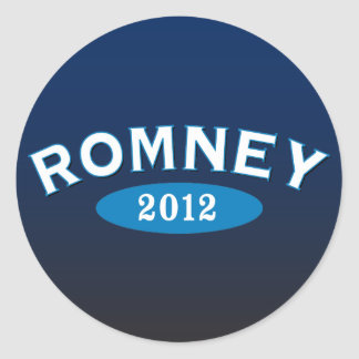 Romney Arc 2012 Classic Round Sticker