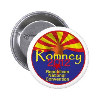 Romney ARIZONA Button