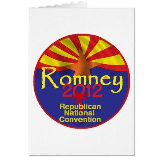 Romney ARIZONA Card