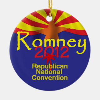 ROMNEY ARIZONA CHRISTMAS ORNAMENTS