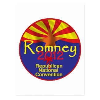 Romney ARIZONA Postcard