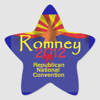 Romney ARIZONA Star Sticker
