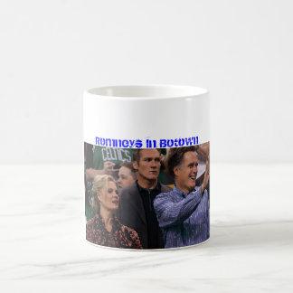 Romney At Celtics Game 11 Oz Magic Heat Color-Changing Coffee Mug