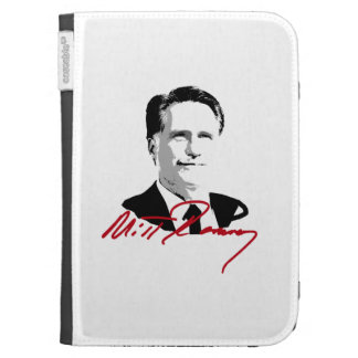 ROMNEY AUTOGRAPH RED KINDLE KEYBOARD CASES