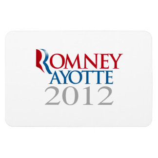 ROMNEY AYOTTE 2012.png Rectangular Photo Magnet