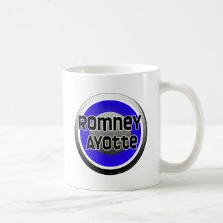 Romney Ayotte 2012 Tazas