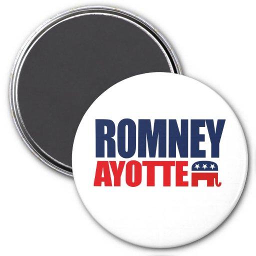 ROMNEY AYOTTE TICKET 2012.png Magnets
