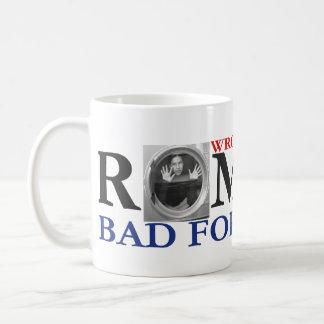 Romney Bad For Women Political Mug