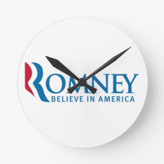 Romney Believe in America Clock