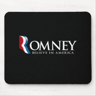 Romney - Believe in America - Mouse Pad