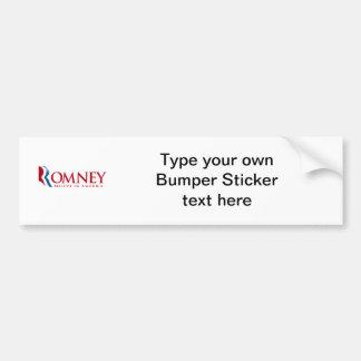 Romney - Believe in America (red) Bumper Sticker