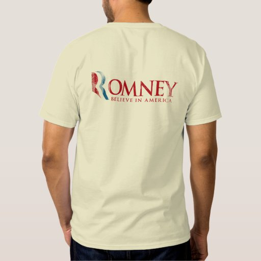Romney - Believe in America (red) Shirts