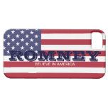 Romney Believe in America USA Flag Case iPhone 5 Cover