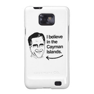 ROMNEY BELIEVES IN THE CAYMAN ISLANDS.png Galaxy S2 Covers
