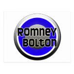 Romney Bolton 2012 Tarjetas Postales