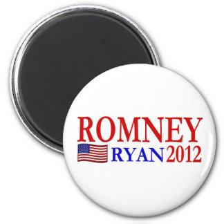 ROMNEY - Botón de RYAN 2012 Imanes