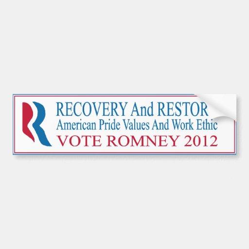 ROMNEY Bumper Sticker