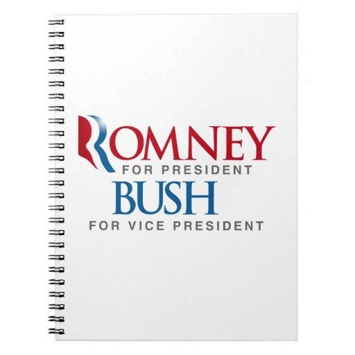 ROMNEY BUSH FOR VP LOGO.png Note Books